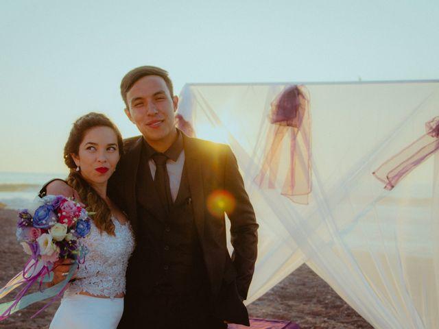 El matrimonio de Keila y Alex