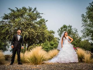 El matrimonio de Jenny y Sergio