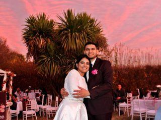 El matrimonio de Gabriela y Frank
