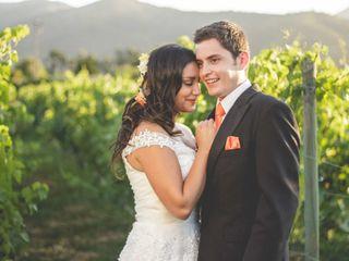 El matrimonio de Stephanie y Alvaro