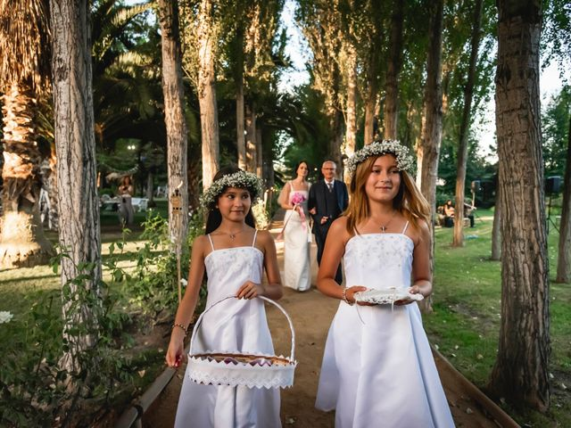 El matrimonio de Sebastián y Francesca en Paine, Maipo 13