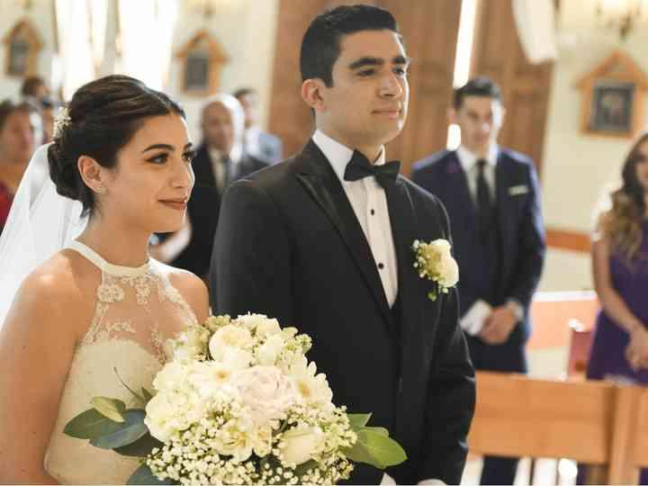 El matrimonio de Michelle y David