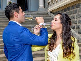 El matrimonio de Javiera Vitale y Victor Cruchett 2