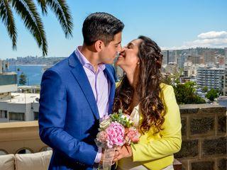 El matrimonio de Javiera Vitale y Victor Cruchett 3