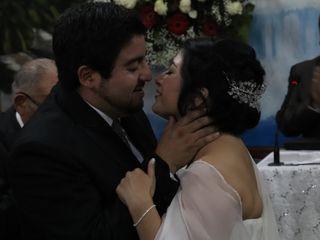 El matrimonio de María José y Hans