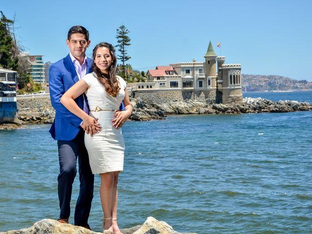 El matrimonio de Javiera Vitale y Victor Cruchett