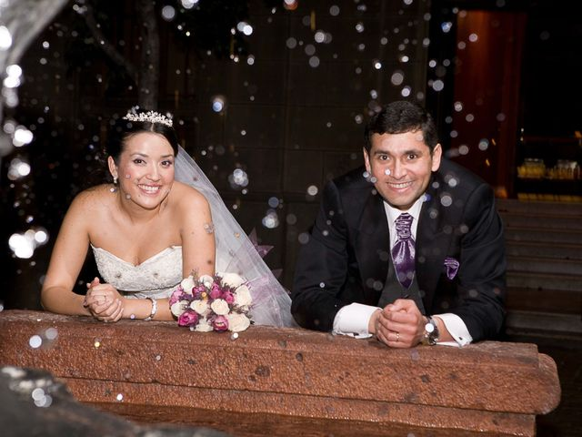 El matrimonio de Evelyn y José Manuel