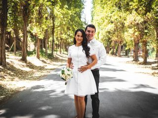 El matrimonio de Nicole y Benjamín 1