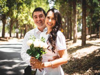 El matrimonio de Nicole y Benjamín