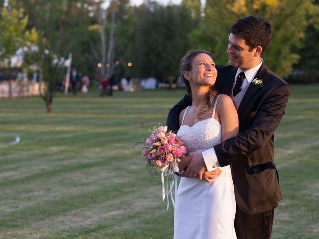 El matrimonio de Natalia y Damian