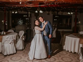 El matrimonio de María Fernanda y Mauricio