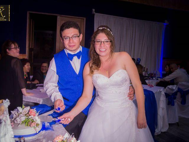 El matrimonio de Jacqueline Olivares  y Angel Baros