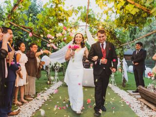 El matrimonio de Maria Paz y Diego