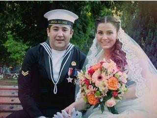 El matrimonio de Scarlet y Christian 1