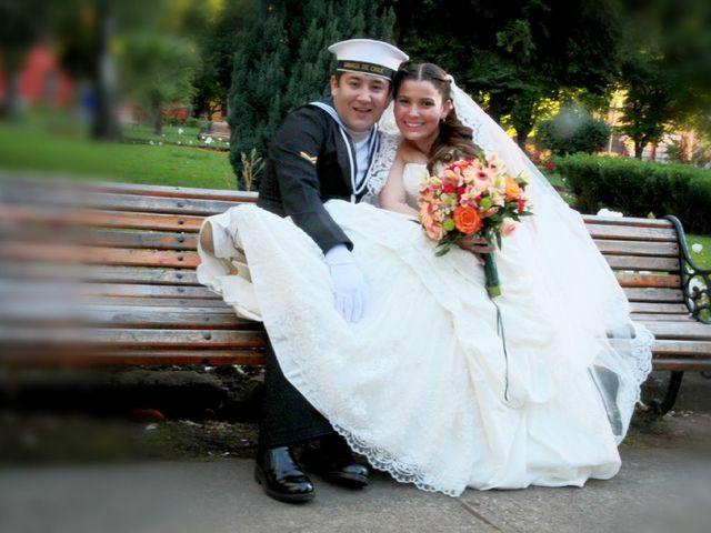 El matrimonio de Scarlet y Christian