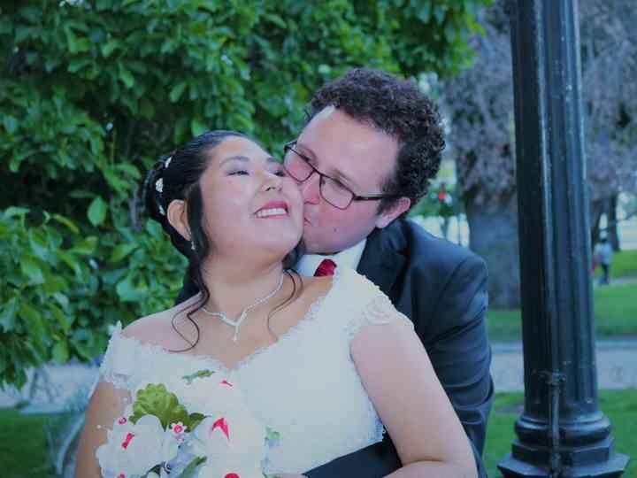 El matrimonio de Vania  y Carlos