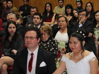 El matrimonio de Vania  y Carlos  1