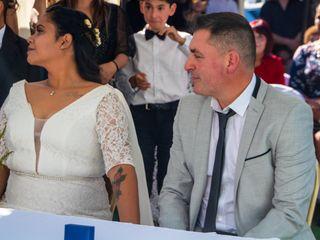 El matrimonio de Doris y Miguel