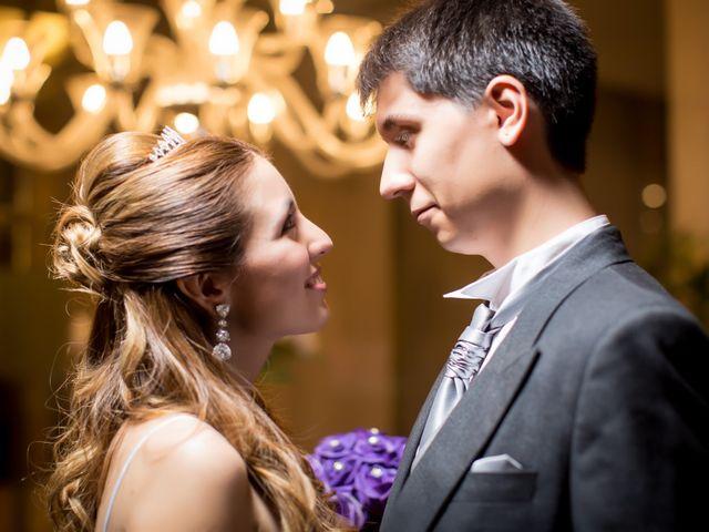 El matrimonio de Romina y Andrés