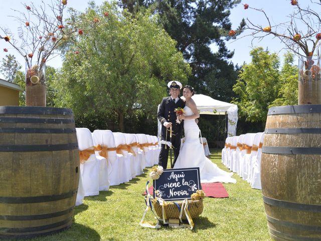 El matrimonio de Tiare y Rene