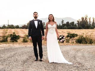 El matrimonio de Maca y Santiago