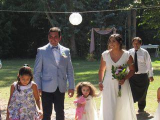 El matrimonio de Karen y Roberto