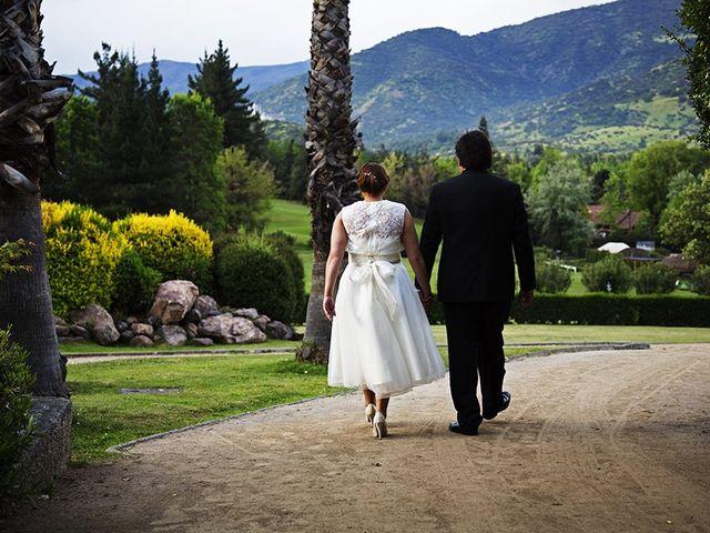 El matrimonio de Cristian y Carmen en Lo Barnechea, Santiago 9