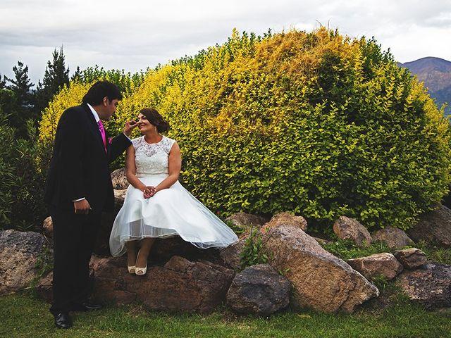 El matrimonio de Cristian y Carmen en Lo Barnechea, Santiago 11