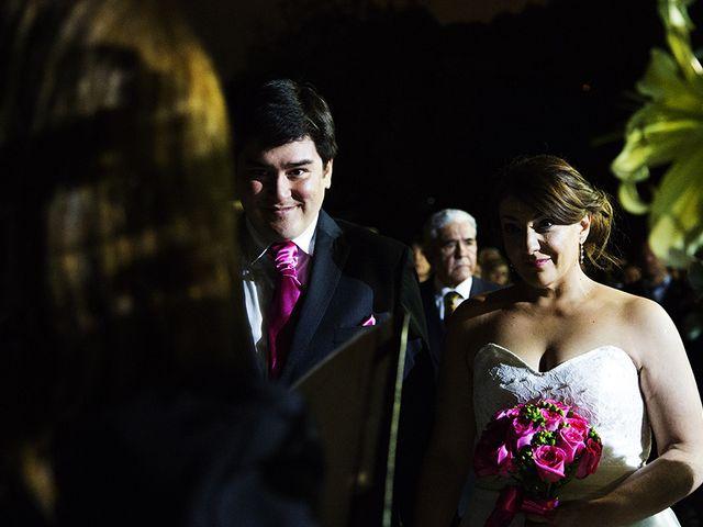 El matrimonio de Cristian y Carmen en Lo Barnechea, Santiago 14