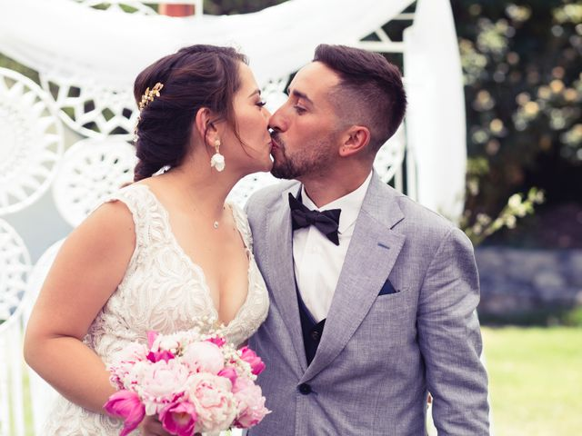 El matrimonio de Belén y Alan