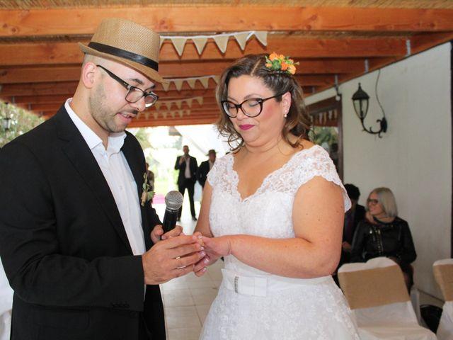 El matrimonio de Daniela y Alán