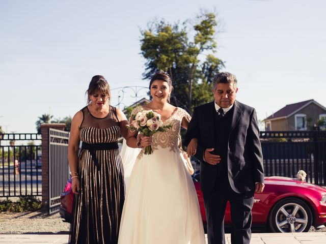 El matrimonio de Erick y Madeleine en San Bernardo, Maipo 57