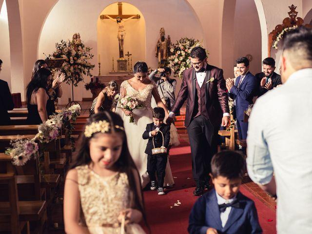 El matrimonio de Erick y Madeleine en San Bernardo, Maipo 94