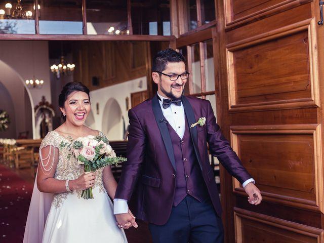 El matrimonio de Erick y Madeleine en San Bernardo, Maipo 95