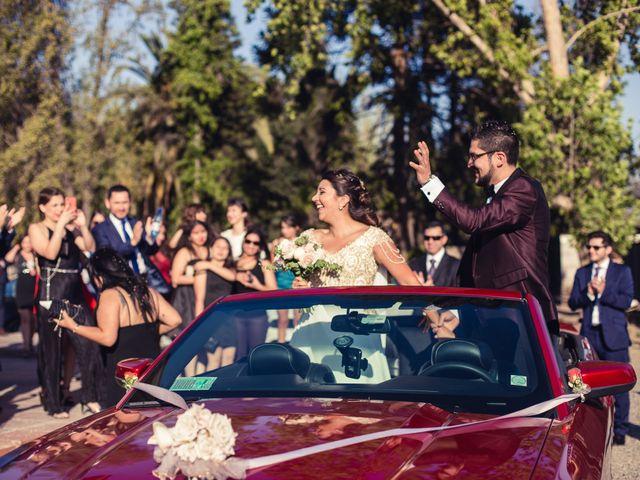 El matrimonio de Erick y Madeleine en San Bernardo, Maipo 97