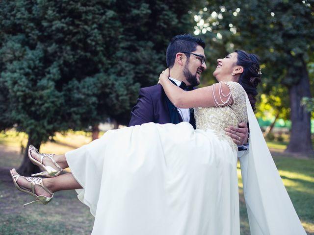 El matrimonio de Erick y Madeleine en San Bernardo, Maipo 110