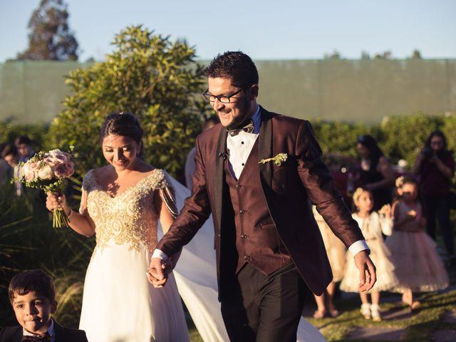 El matrimonio de Erick y Madeleine en San Bernardo, Maipo 112