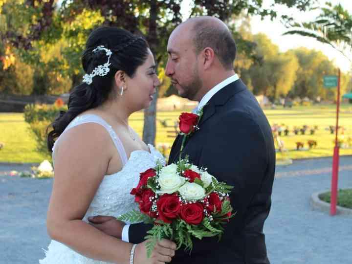El matrimonio de María Fernanda  y Eduardo