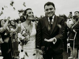 El matrimonio de Vanessa y Álvaro