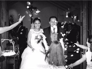 El matrimonio de Natalia y Andres