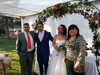 El matrimonio de Alan y Ximena