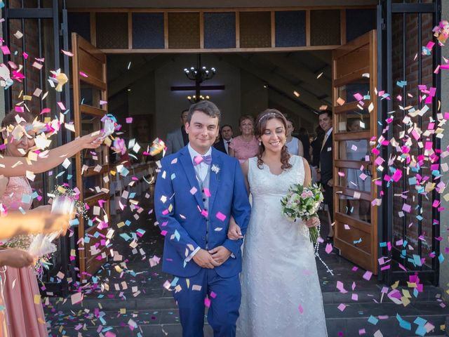 El matrimonio de Sandra y Osvaldo