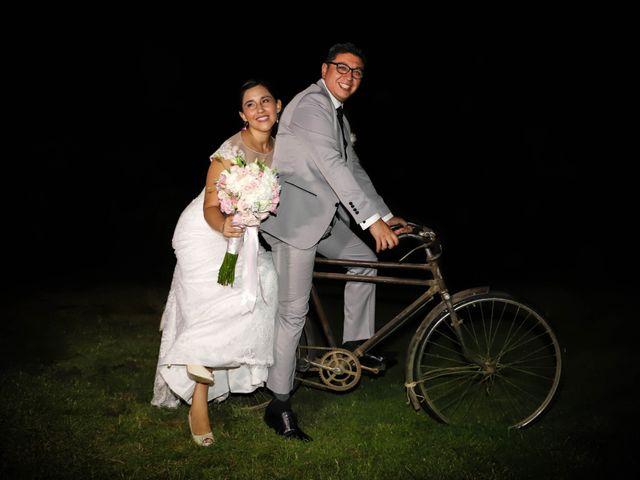 El matrimonio de Edgar y Francesca