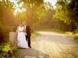 El matrimonio de Claudio y Evelyn