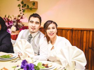 El matrimonio de Javier y Evelyn