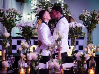 El matrimonio de Mauricio y jonathan 1
