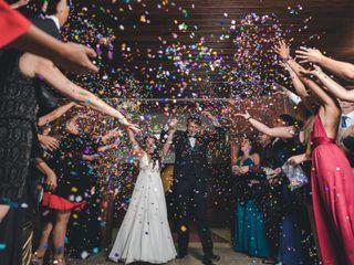 El matrimonio de Daniela y Vicente