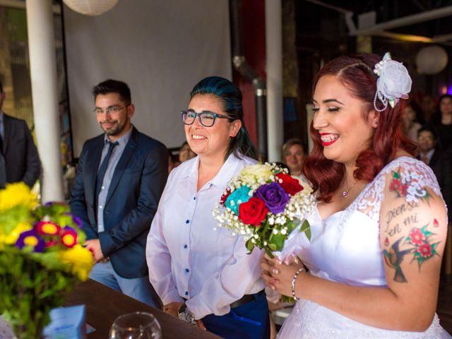 El matrimonio de Victoria y Marian