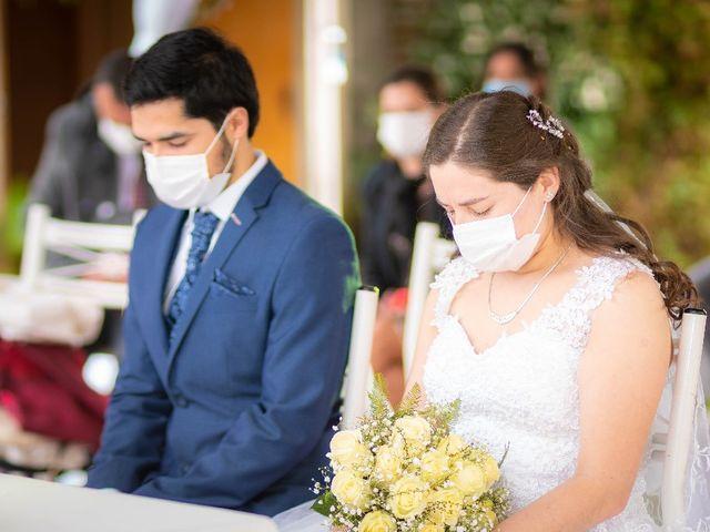 El matrimonio de Dayan y Nicolás
