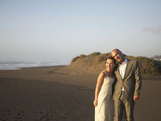 El matrimonio de Cata y Brian